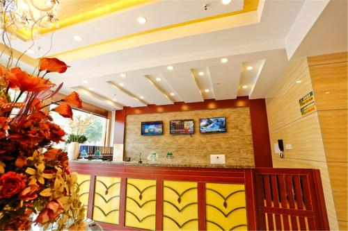 GreenTree Inn Anhui Fuyang Yijing International North Door Busniess Hotel